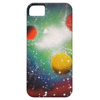 Spray Paint Art Space Galaxy Painting Case For The iPhone 5