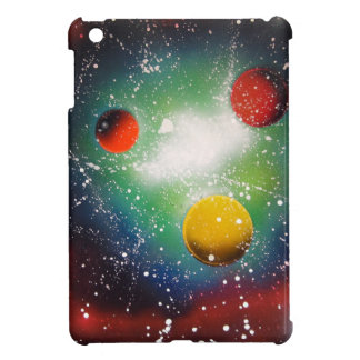 Spray Paint Art Space Galaxy Painting Cover For The iPad Mini