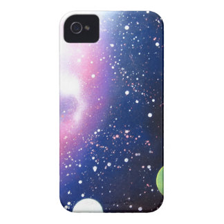 Spray Paint Art Space Galaxy Painting iPhone 4 Case