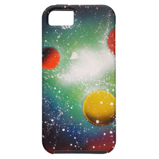 Spray Paint Art Space Galaxy Painting iPhone 5 Case