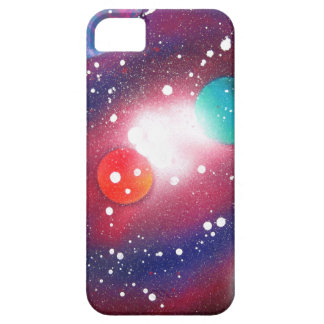 Spray Paint Art Space Galaxy Painting iPhone 5 Covers