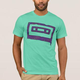 spray paint cassette t-shirt