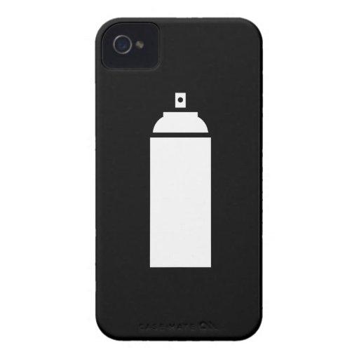 Spray paint pictogram iphone 4 case zazzle for Spray paint iphone case
