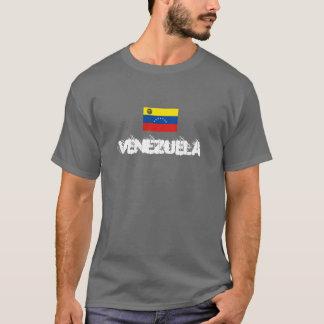 spray painted style venezuela tshirt