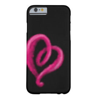 Sprayed heart barely there iPhone 6 case
