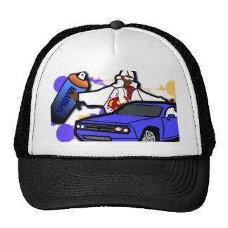 Sprayed Trucker Hat