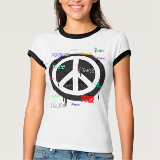 Spraypainted Peace Sign Tee