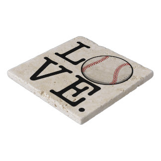 Spread Baseball Love | Baseball Fan Trivet