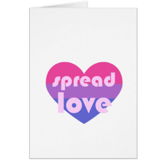 Spread Bisexual Love Card