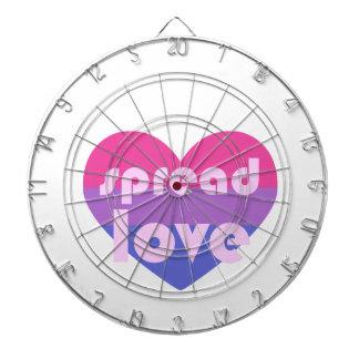 Spread Bisexual Love Dartboard
