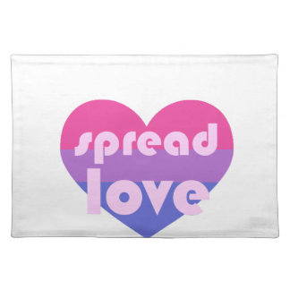 Spread Bisexual Love Placemat