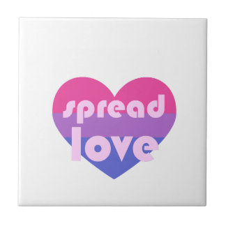 Spread Bisexual Love Tile