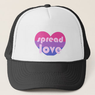 Spread Bisexual Love Trucker Hat