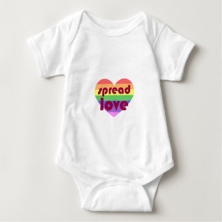 Spread Gay Love Baby Bodysuit