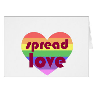 Spread Gay Love Card