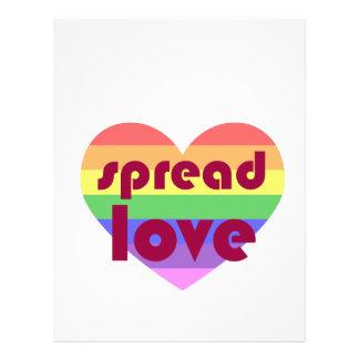 Spread Gay Love Letterhead