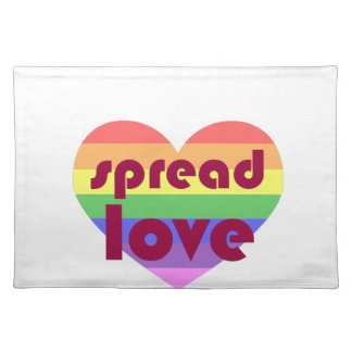 Spread Gay Love Placemat