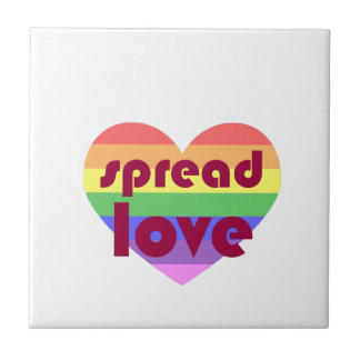 Spread Gay Love Tile