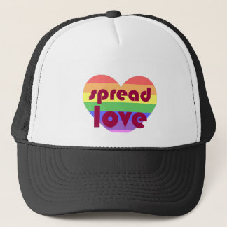 Spread Gay Love Trucker Hat