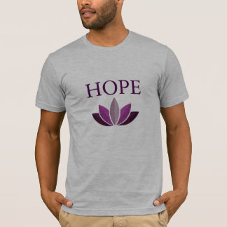 Spread Hope Men's Shirt with Lotus