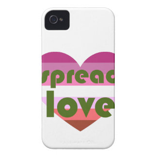 Spread Lesbian Love iPhone 4 Cover