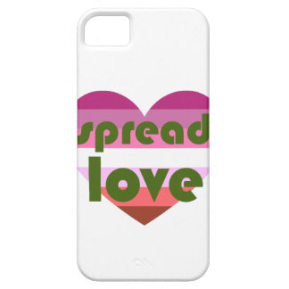 Spread Lesbian Love iPhone 5 Cover