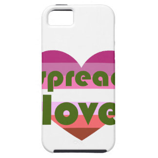 Spread Lesbian Love iPhone 5 Covers
