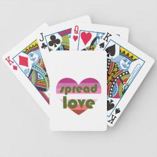 Spread Lesbian Love Poker Deck