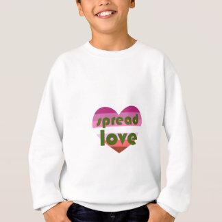 Spread Lesbian Love Sweatshirt