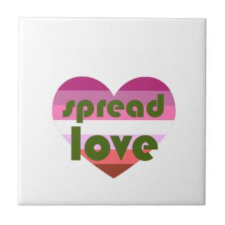 Spread Lesbian Love Tile