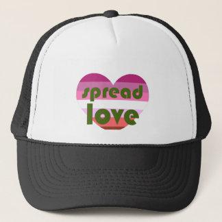 Spread Lesbian Love Trucker Hat