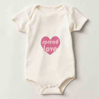Spread Love (general) Baby Bodysuit