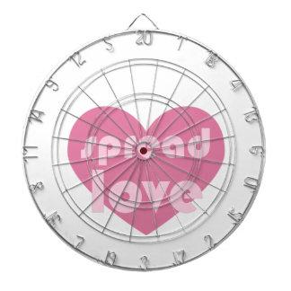 Spread Love (general) Dartboard