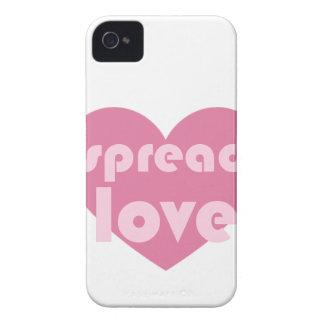Spread Love (general) iPhone 4 Case-Mate Case