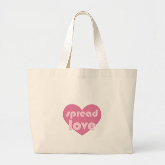Spread Love (general) Large Tote Bag