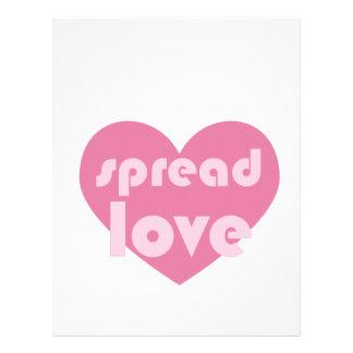 Spread Love (general) Letterhead