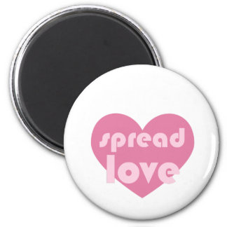 Spread Love (general) Magnet