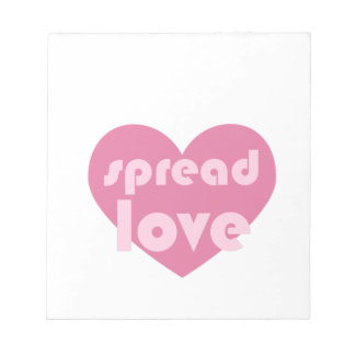 Spread Love (general) Notepad