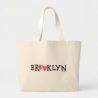 """Spread love it's the Brooklyn way!"" large tote"