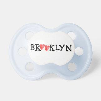 """""""Spread love it's the Brooklyn way!"""" Pacifier"""
