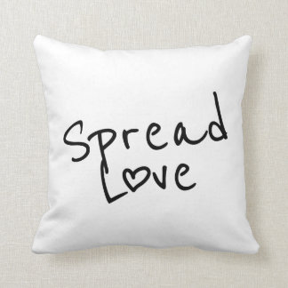 Spread Love Throw Pillow