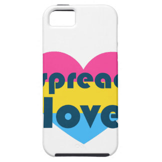 Spread Pansexual Love iPhone 5 Cases