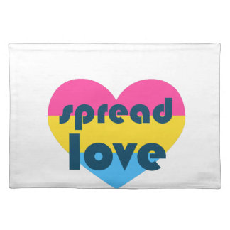 Spread Pansexual Love Placemat