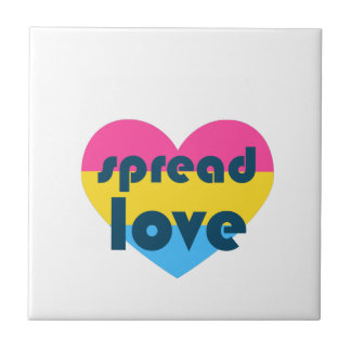 Spread Pansexual Love Tile