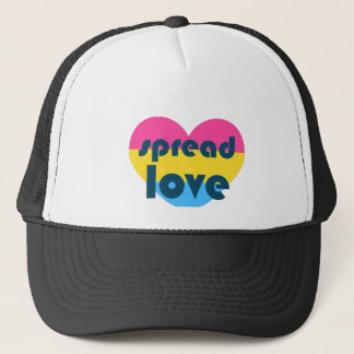 Spread Pansexual Love Trucker Hat