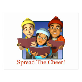 Spread The Cheer Postcard