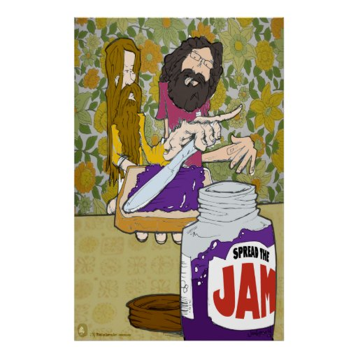 Spread the Jam Poster