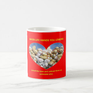 spread-the-love-and-unload-them-on-someone-else classic white coffee mug