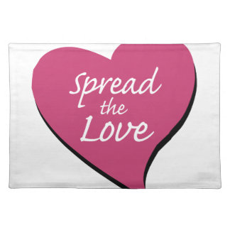 Spread The Love Placemat