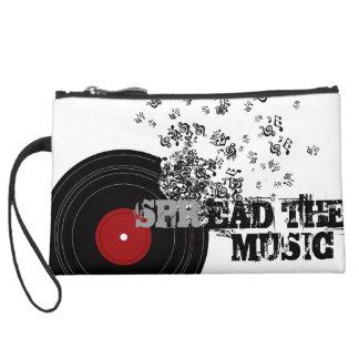 Spread_The_Music Wristlet Purses
